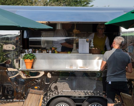 Frances Atkins swaps former Michelin-starred Yorke Arms for a food wagon